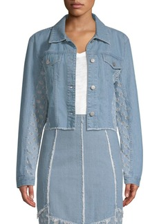 Cropped Cyra Denim Jacket