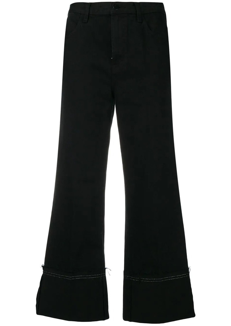 J Brand cropped denim jeans