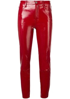 J Brand cropped leather trousers