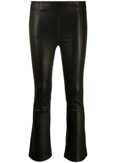 J Brand cropped mid-rise trousers
