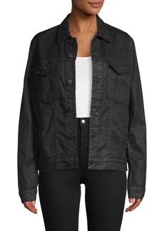 J Brand Denim Button-Front Jacket