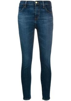 J Brand denim cropped skinny jeans