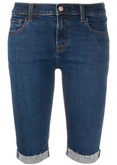 J Brand denim knee-length shorts