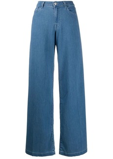 J Brand denim wide leg jeans