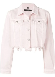 J Brand distressed denim jacket