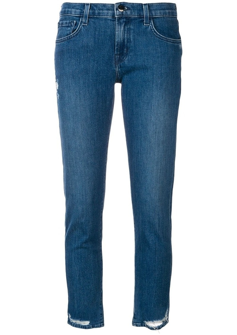 J Brand distressed detail jeans