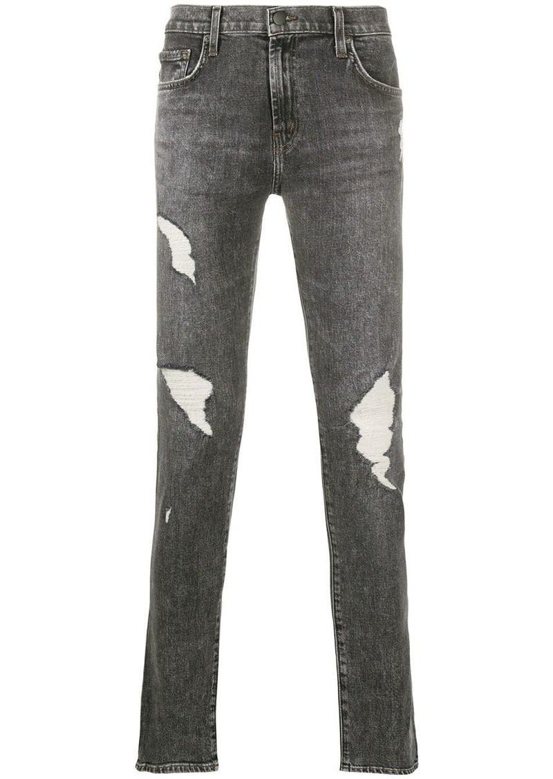 J Brand distressed-effect skinny jeans