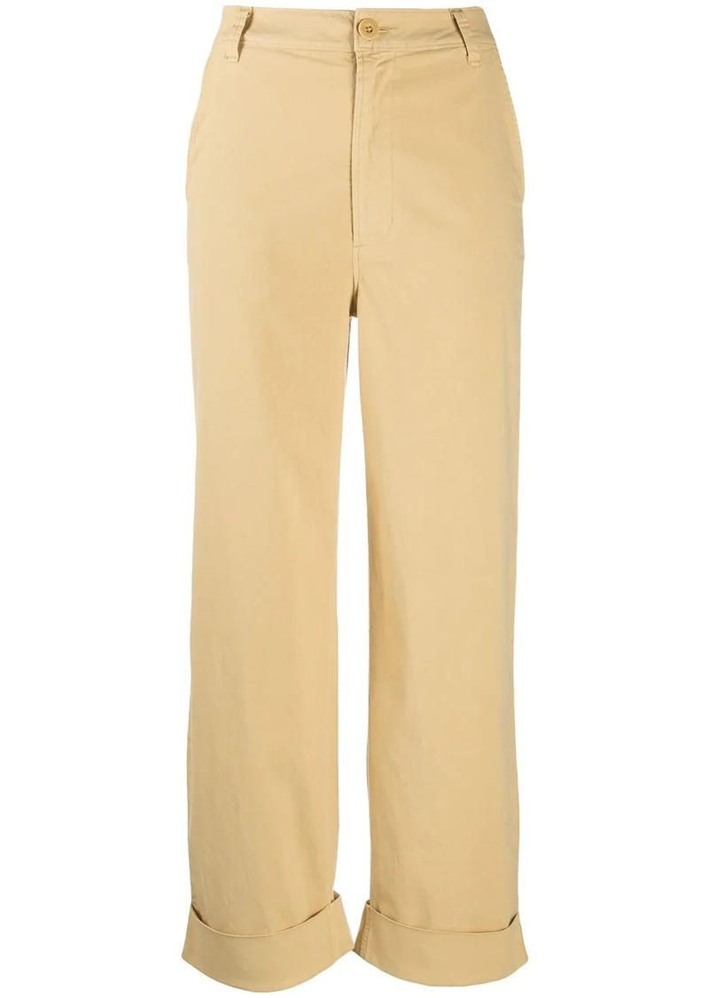 J Brand Ebbe high-rise wide-leg trousers