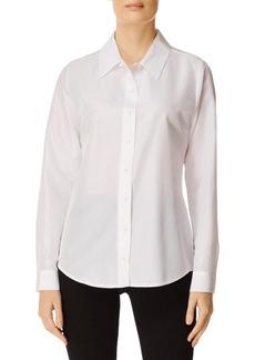 J Brand Elena Button-Front Long-Sleeve Shirt