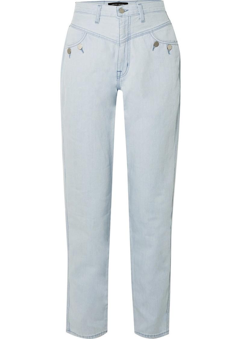 J Brand Elsa Hosk Playday High-rise Straight-leg Jeans