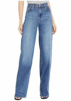 Elsa Hosk x J Brand Monday Jean in Workday Blue