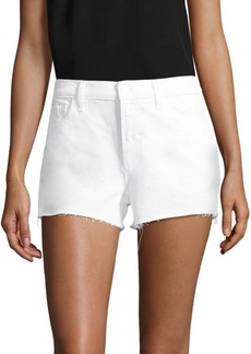 J Brand Ex Cut-Off Denim Shorts
