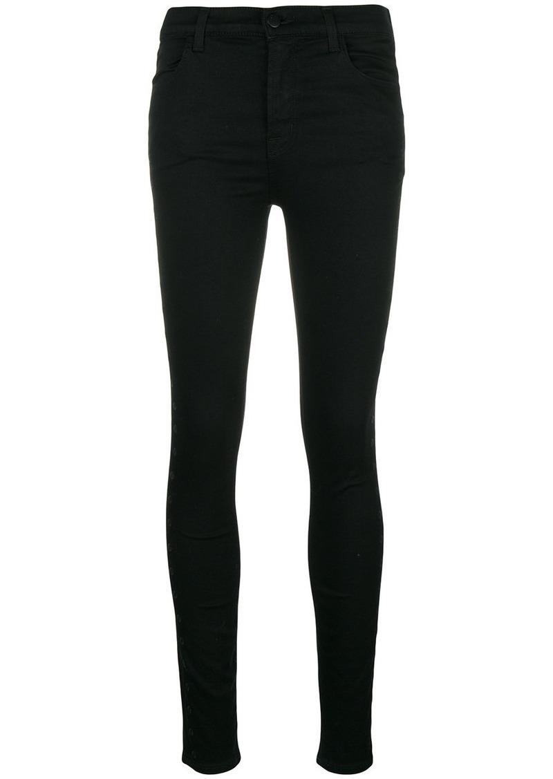 J Brand fabric eyelet jeans