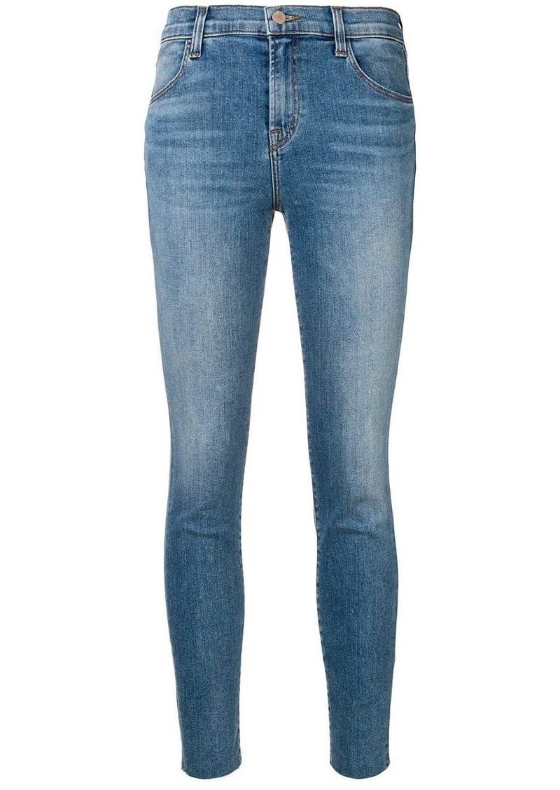 J Brand faded slim fit jeans