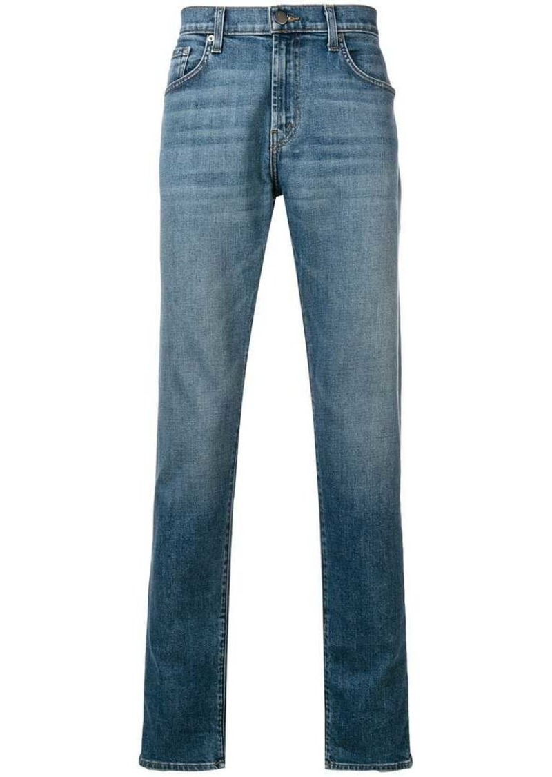 J Brand faded slim fit jeans