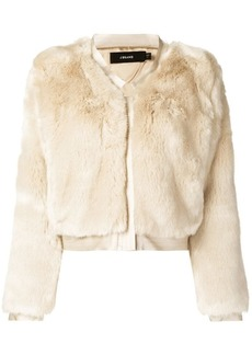 J Brand faux fur jacket