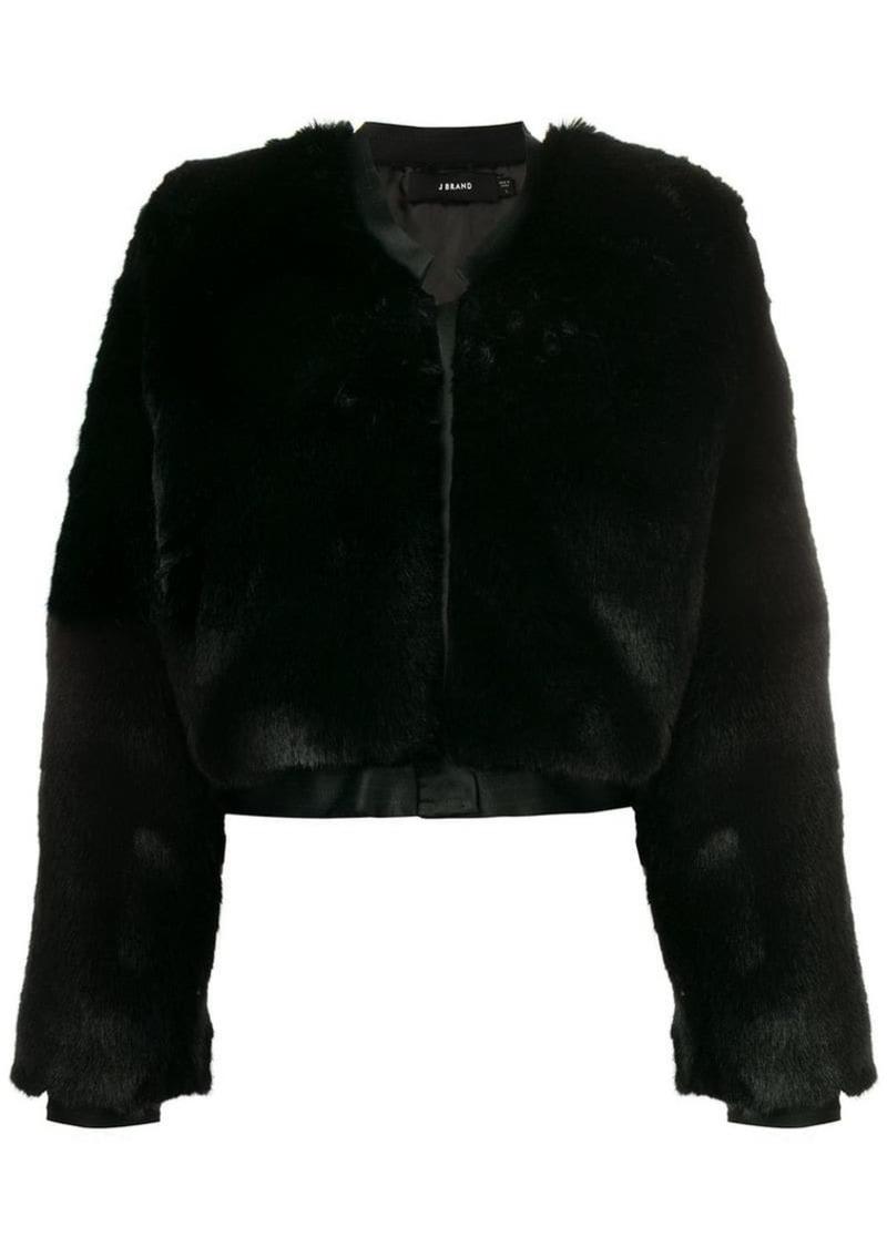 J Brand 'Faux Fur Jacket'