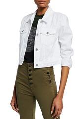 J Brand Faye Cropped Denim Jacket