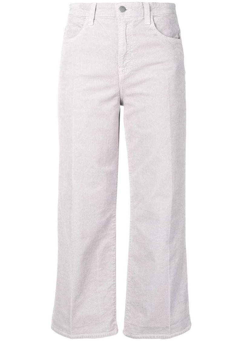 J Brand flared corduroy trousers