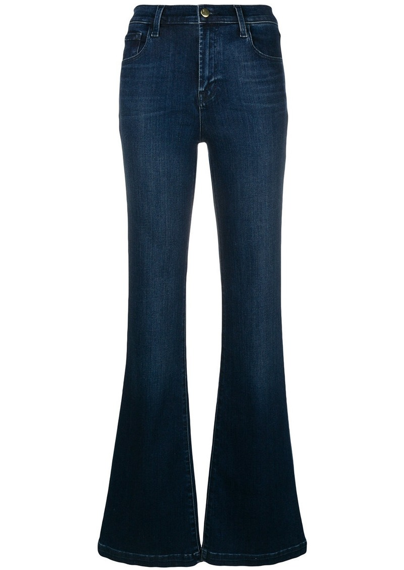 J Brand Maria flared jeans