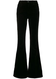 J Brand flared trousers
