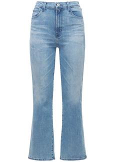 J Brand Franky High Waist Crop Boot Jeans