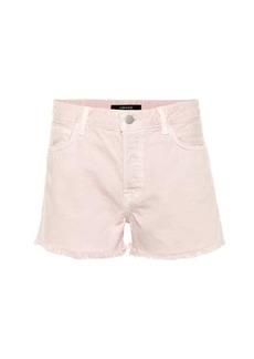 J Brand Gracie high-rise denim shorts