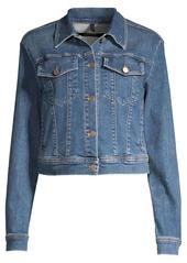 J Brand Harlow Shrunken Denim Jacket