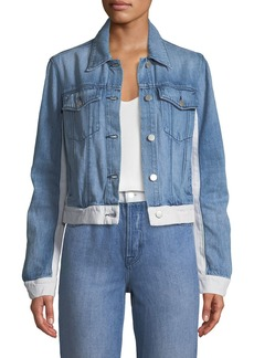 J Brand Harlow Shrunken Denim Jacket