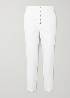 J Brand Heather High-rise Straight-leg Jeans