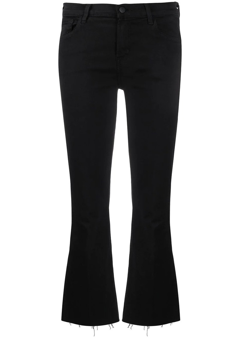 J Brand high rise cropped Selena jeans