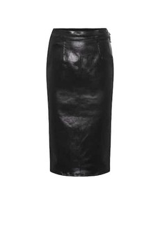 J Brand High-rise pencil skirt