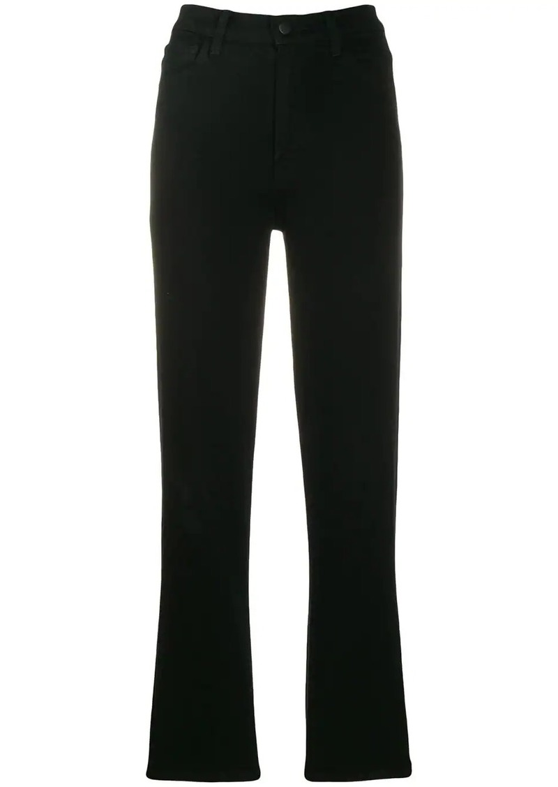 J Brand high-waisted slim fit jeans