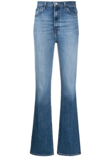 J Brand high waisted straight leg jeans