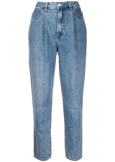 J Brand high-waisted tapered-leg jeans