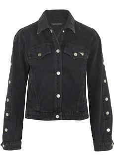 J Brand + Bella Freud Debbie cropped denim jacket
