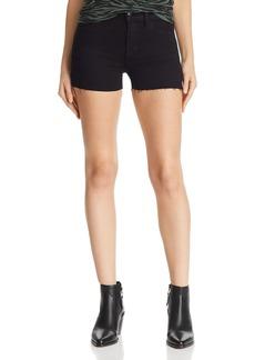 J Brand 1044 Mid Rise Denim Shorts in Black