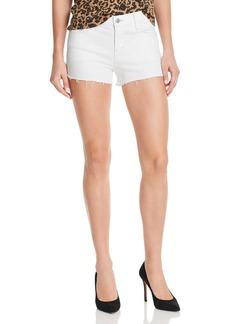 J Brand 1044 Mid Rise Denim Shorts in Blanc