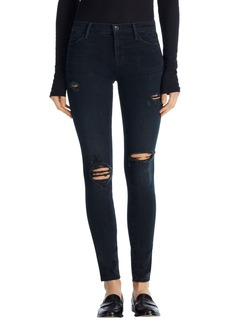 J Brand '2311 Maria' High Rise Skinny Jeans (Destructed Sanctity)