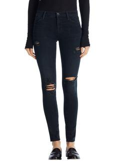 J Brand '2311 Maria' High Rise Skinny Jeans (Destructed Sanctity)