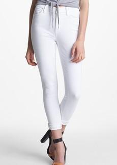 J Brand 2311 Maria High Waist Skinny Jeans (Blanc)