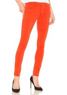 J Brand 485 Mid Rise Super Skinny Jean