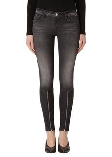 J Brand 620 Mid Rise Super Skinny Jeans (Black Heath)