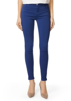J Brand 620 Mid Rise Super Skinny Jeans (Electric Sea Destruct)