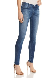 J Brand 620 Mid Rise Super Skinny Jeans in Mystic