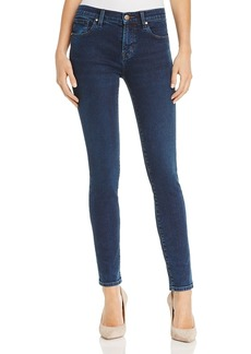 J Brand 620 Mid Rise Super Skinny Jeans in Throne