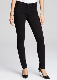 J Brand 620 Skinny Jeans in Seriously Black
