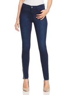 J Brand 620 Super Skinny Jeans in Stormy