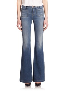 J BRAND 802 Demi High-Rise Flared Jeans