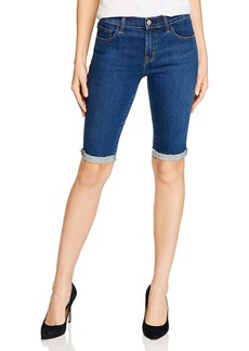 J Brand 811 Denim Bermuda Shorts in Paradiso